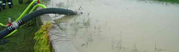 Hochwassereinsatz in Oed und der Hoef