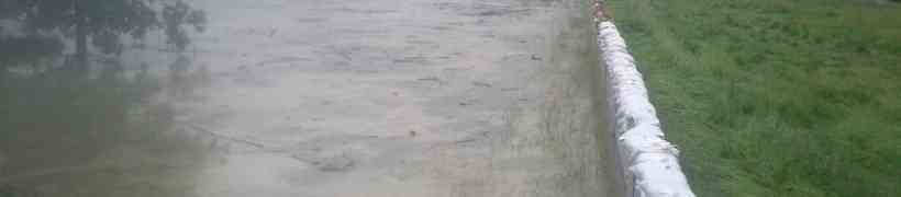 Hochwassereinsatz in Wallsee