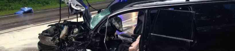 Tödlicher Verkehrsunfall auf der B1