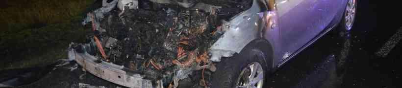 Fahrzeugbrand auf der Oiden
