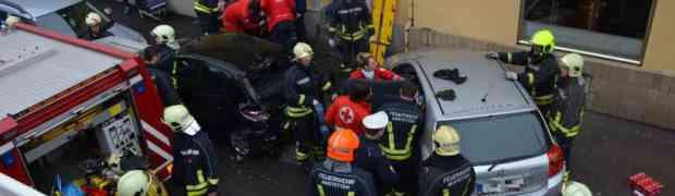 Schwerer Verkehrsunfall in Amstetten