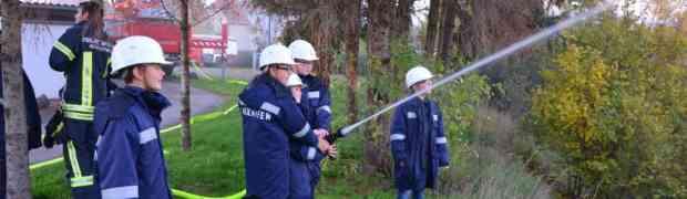 Abschnittsübung der Feuerwehrjugend
