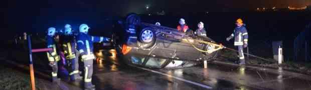Verkehrsunfall auf der B119
