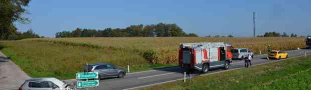 B2 - Verkehrsunfall Höhe Gschirm