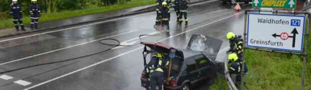 Fahrzeugbrand 20.06.2020