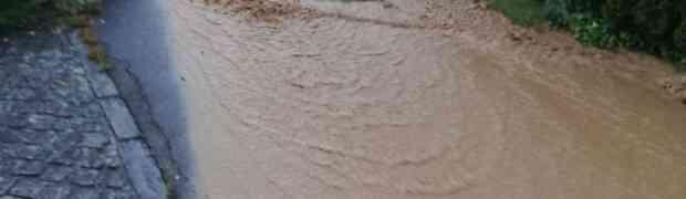 Einsatz Hochwasser 07.06.2020